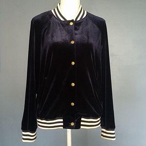 Jackets & Blazers - Crushed velvet jacket